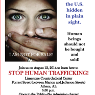 Tomorrow – Stop Human Trafficking Event